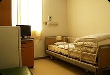 病室は個室(有料)もご用意しております。